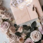 The Best Glamour Wedding Colors Combination – Peach and Gold