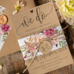Boho Chic Floral Wedding Stationery inspiration perfect for summer weddings