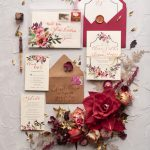 Fine art wedding calligraphy perfect for Christmas time