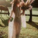Romantic summer boho wedding inspiration