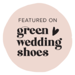 We're on Green Wedding Shoes!