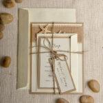 Beach Wedding invitations Starfish Wedding Invites destination rustic wedding invitation suite
