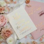 Peachy peony wedding blush ivitation suite. Blush wedding cards and stationery. Silk handmade invitations. Ecological invitaitons.