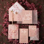 Wedding invitations online gold foil printing invites