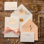 Wedding invitations sketch of your venue, Wedding Venue Luxury Invites, gold Wedding stationery
